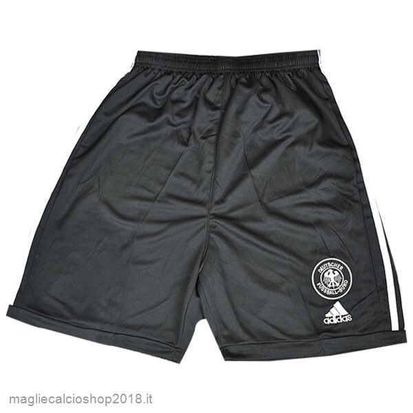 1ª Pantaloni Germania Retro 2002 Nero