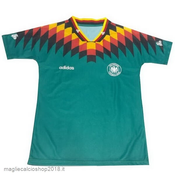 2ª Maglie Calcio Germania Retro 1994 Verde