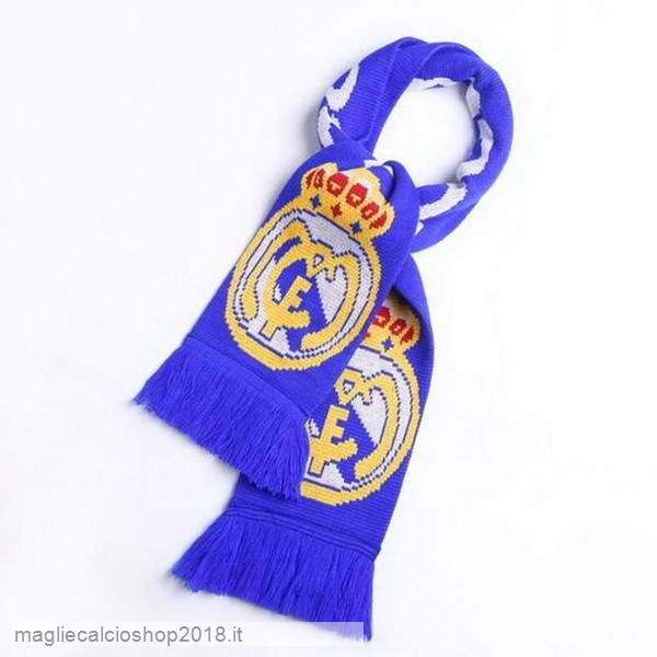 Sciarpa Calcio Real Madrid Knit Blu
