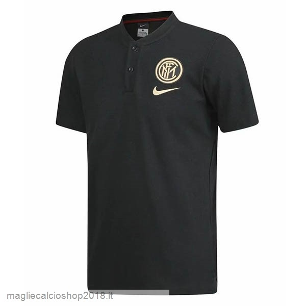 Polo Inter Milán 2019/20 Nero Giallo