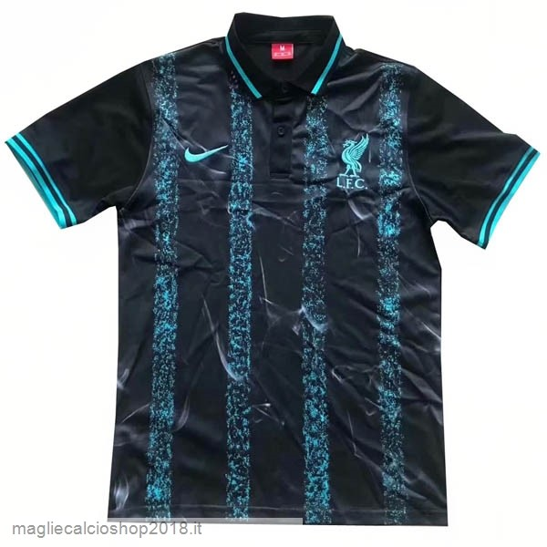 Polo Liverpool 2019/20 Nero Blu