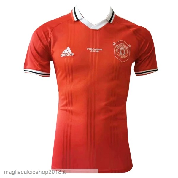 Polo Manchester United 2019/20 Rosso Bianco