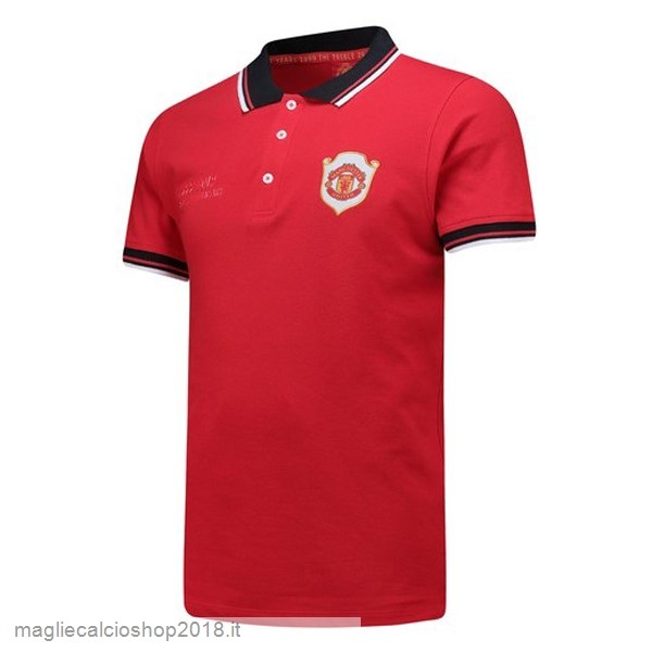 Polo Manchester United 20th Rosso