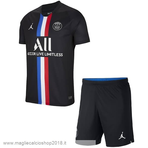 3ª Conjunto De Bambino Paris Saint Germain 2019/20 Nero