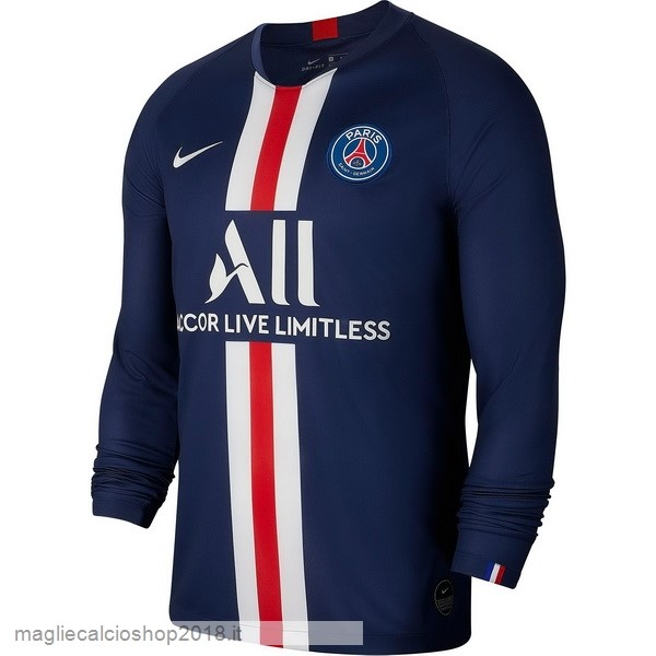 1ª Manica lunga Paris Saint Germain 2019/20 Blu