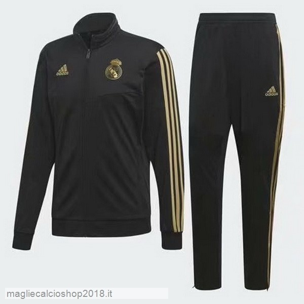 Tuta Calcio Real Madrid 2019/20 Nero Giallo