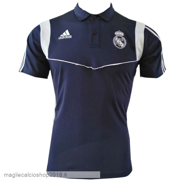 Polo Real Madrid 2019/20 Blu Navy