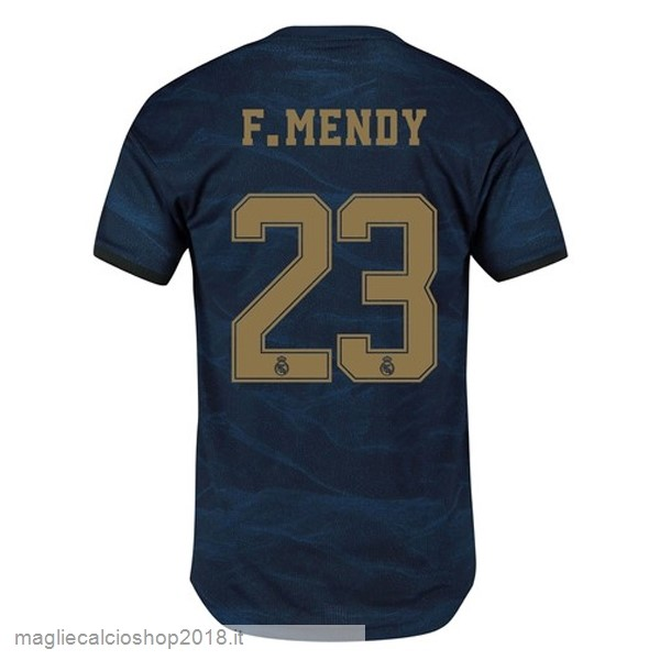 NO.23 F.Mendy 2ª Maglie Calcio Real Madrid 2019/20 Blu