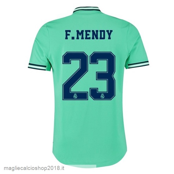 NO.23 F.Mendy 3ª Maglie Calcio Real Madrid 2019/20 Verde