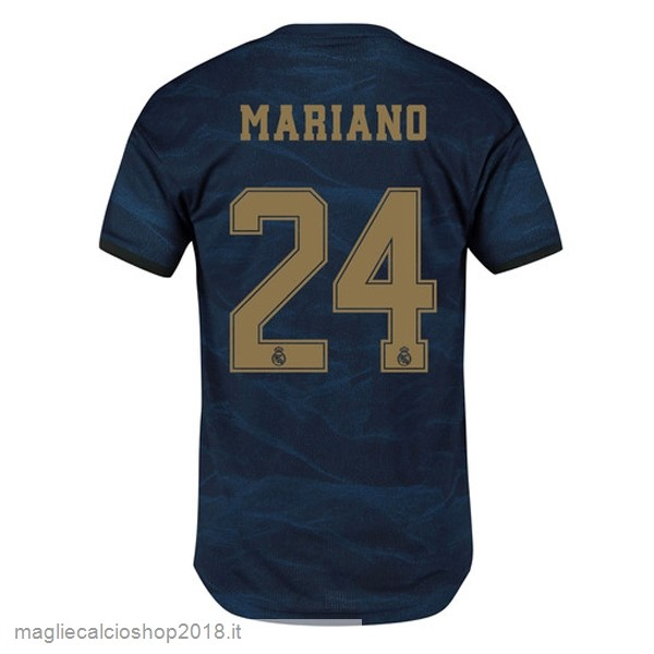 NO.24 Mariano 2ª Maglie Calcio Real Madrid 2019/20 Blu