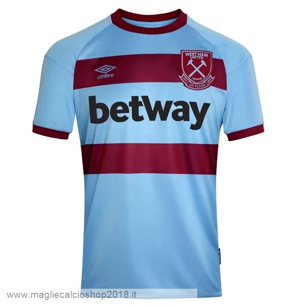 2ª Maglie Calcio West Ham United 2020/21 Blu